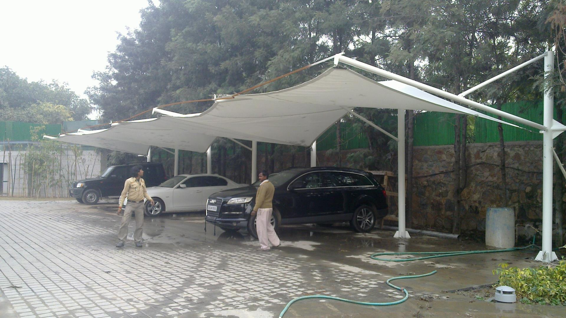Tensile Car Parking Suppliers And Manufacturer In Delhi
